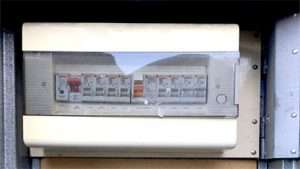 Phot of electrical switchboard