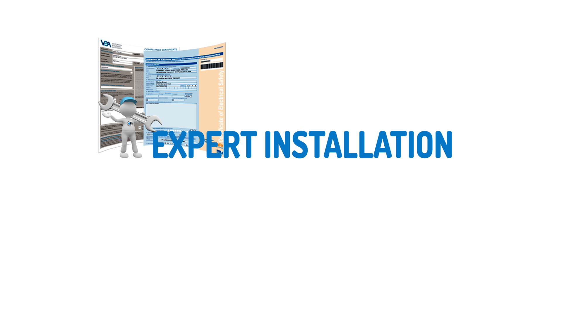 expert installation with certificates