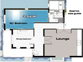 room sizing 3.5kw
