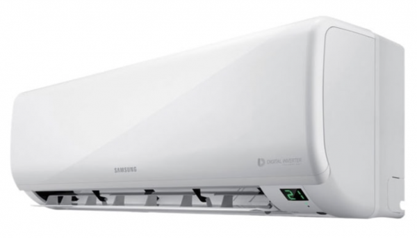 samsung borocay 2.5kw split system side view open AR09