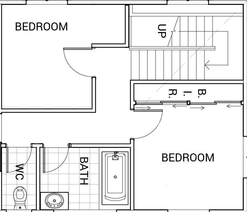 bedroom diagram