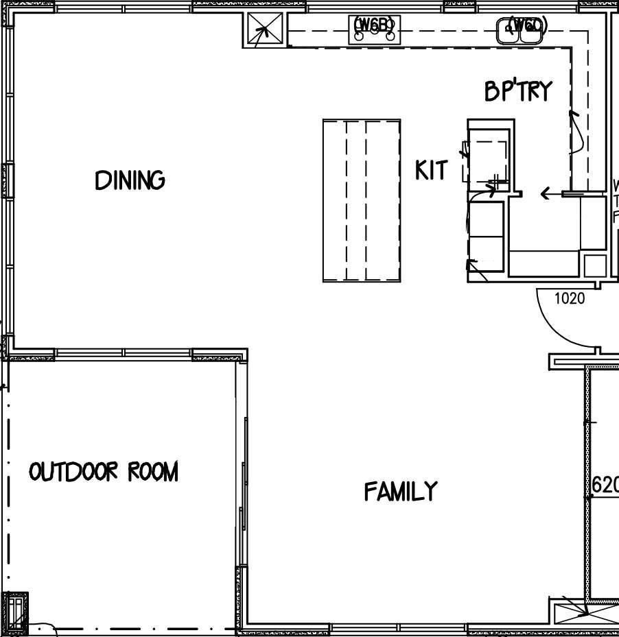 open plan spaces diagram