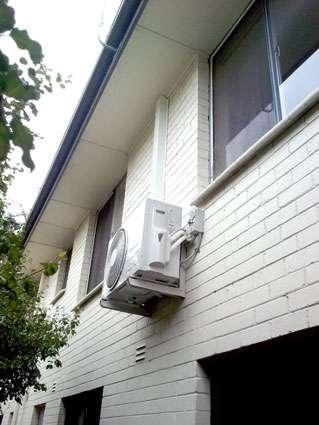 out door unit wall bracket